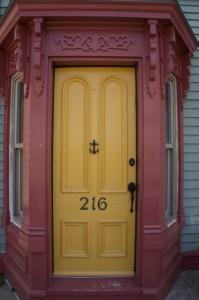 gold-door