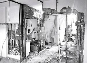 apartment demolition