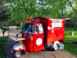 mobile coffee truck
