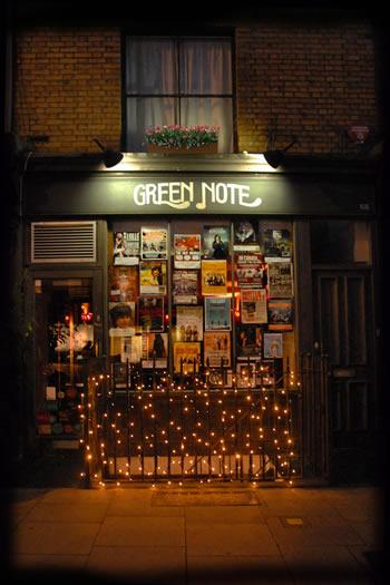 Green Note exterior shot