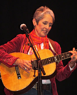 Joan Baez, Cambridge 2007