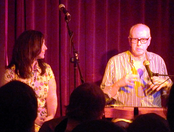 Virginia Thorn and Dan Evans