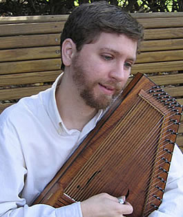 Dan Schatz with autoharp