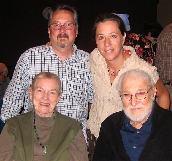 Jean Ritchie & George Pickow with Elwood Donnelly & Aubrey Atwater