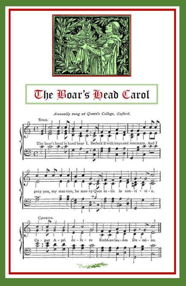 The Boar's Head Carol