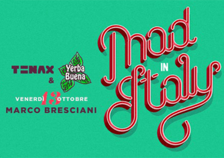 mad in italy - tenax firenze