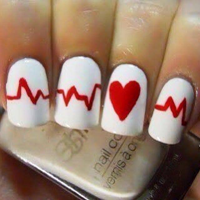 idee nail art san valentino unghie
