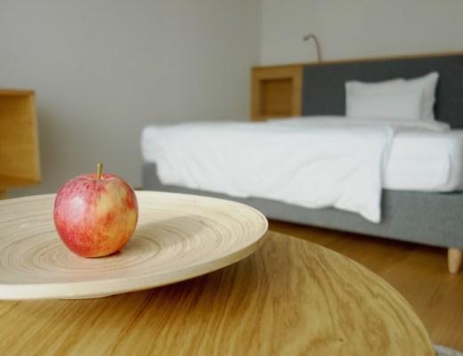 Apfel Design Hotelbett Schwarzschmied