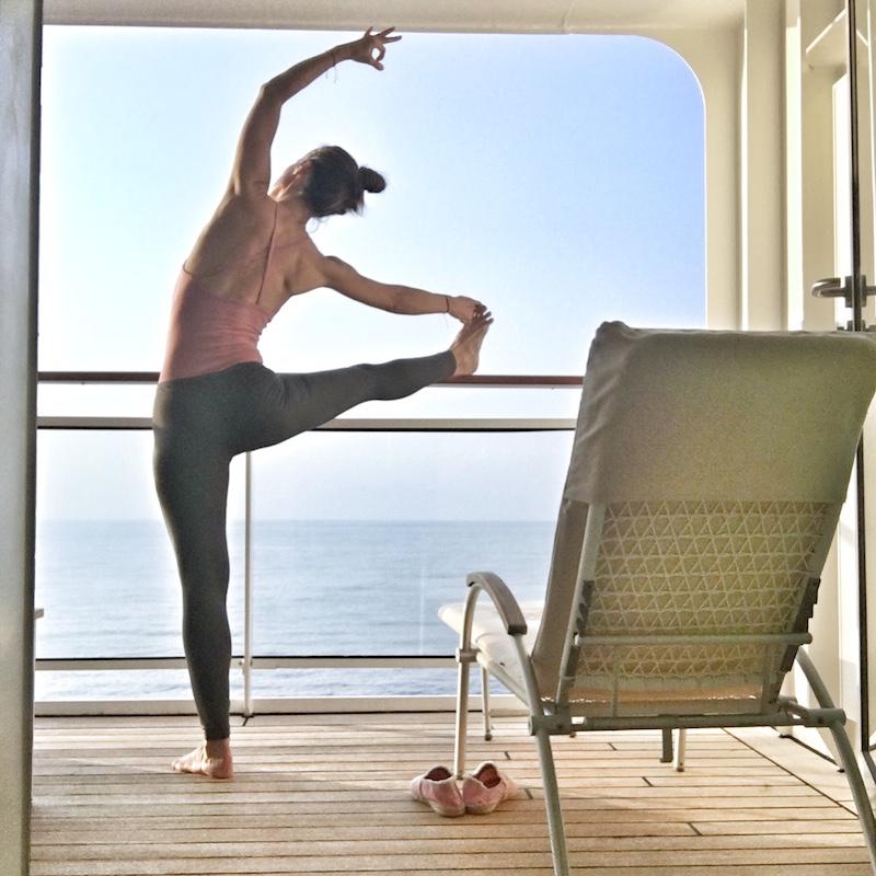 yoga cruiseship