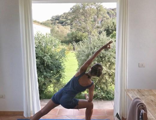 Yoga im Urlaub Sardinien 1