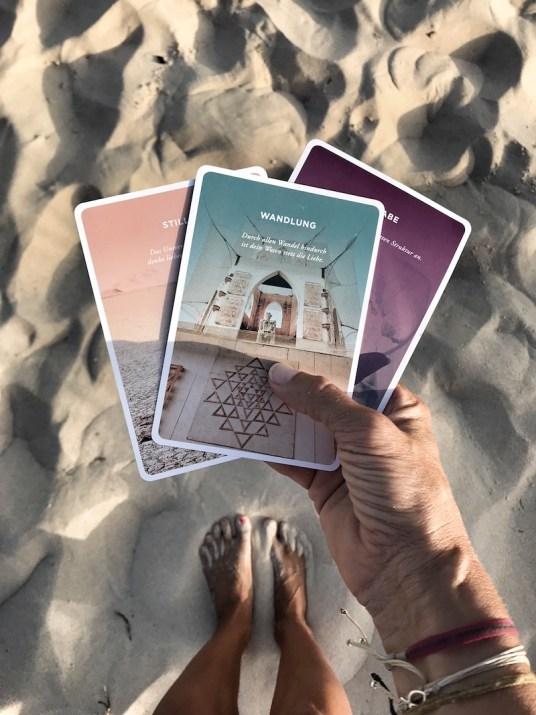 Kartenset Strand