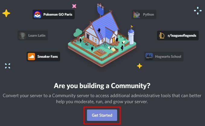 Make public Discord server