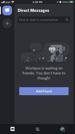 Your new Discord account