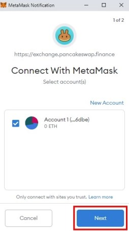 Connect with MetaMask