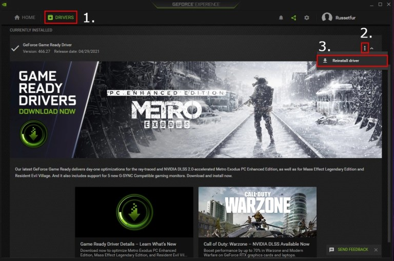 """How to fix """"A supported game is required to use this feature"""" on Nvidia"""