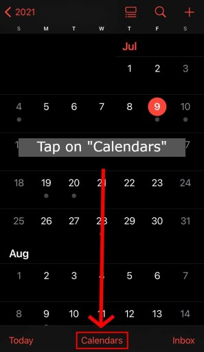How to fix Calendar virus from iPhone or iPad