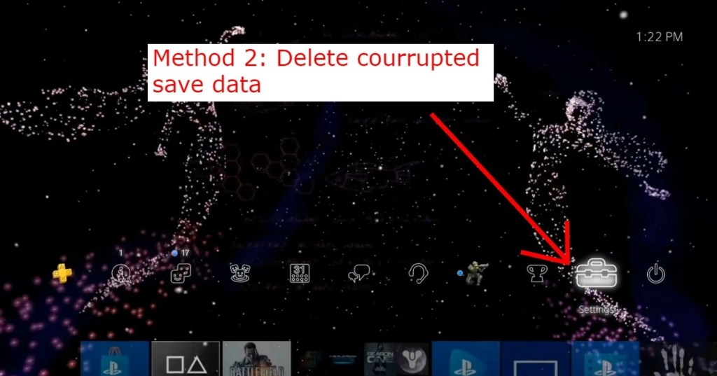 How to fix PS4 error CE-3005-8