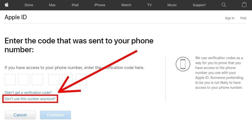 How to reset Apple ID password without phone number