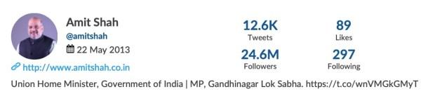 most followed politician on Twitter
