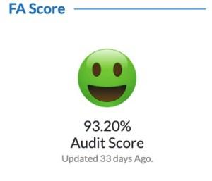 Recep's Follower Audit Score