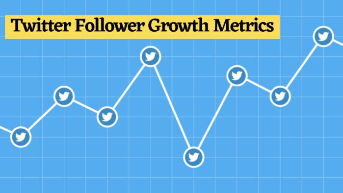 important Twitter follower growth metrics