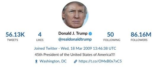 Trump Tweet analysis