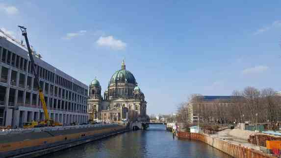 Berlin cathedral spree