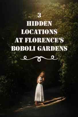 Explore Florence's Boboli Gardens. Boboli Gardens in Italy Picture Locations