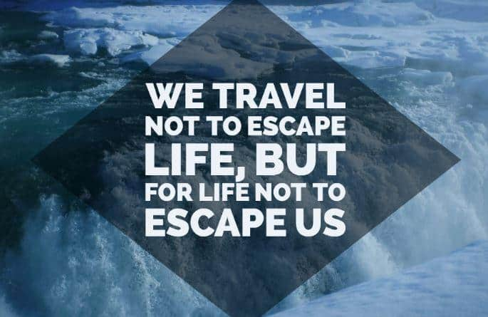 Quotes About Landscape Simple 20 Travel Quotes That Will Inspire You To See The World  Follow