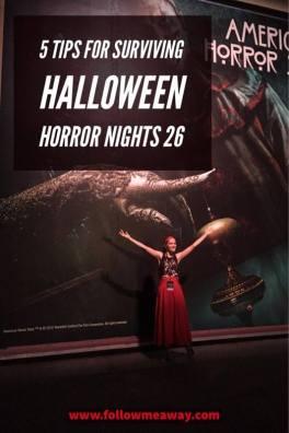 5 Tips For Surviving Halloween Horror Nights 26 | Halloween Horror Nights 2016 | Best Halloween Ideas | Halloween Costumes | Universal Studio's Halloween Horror Nights | Follow Me Away Travel Blog