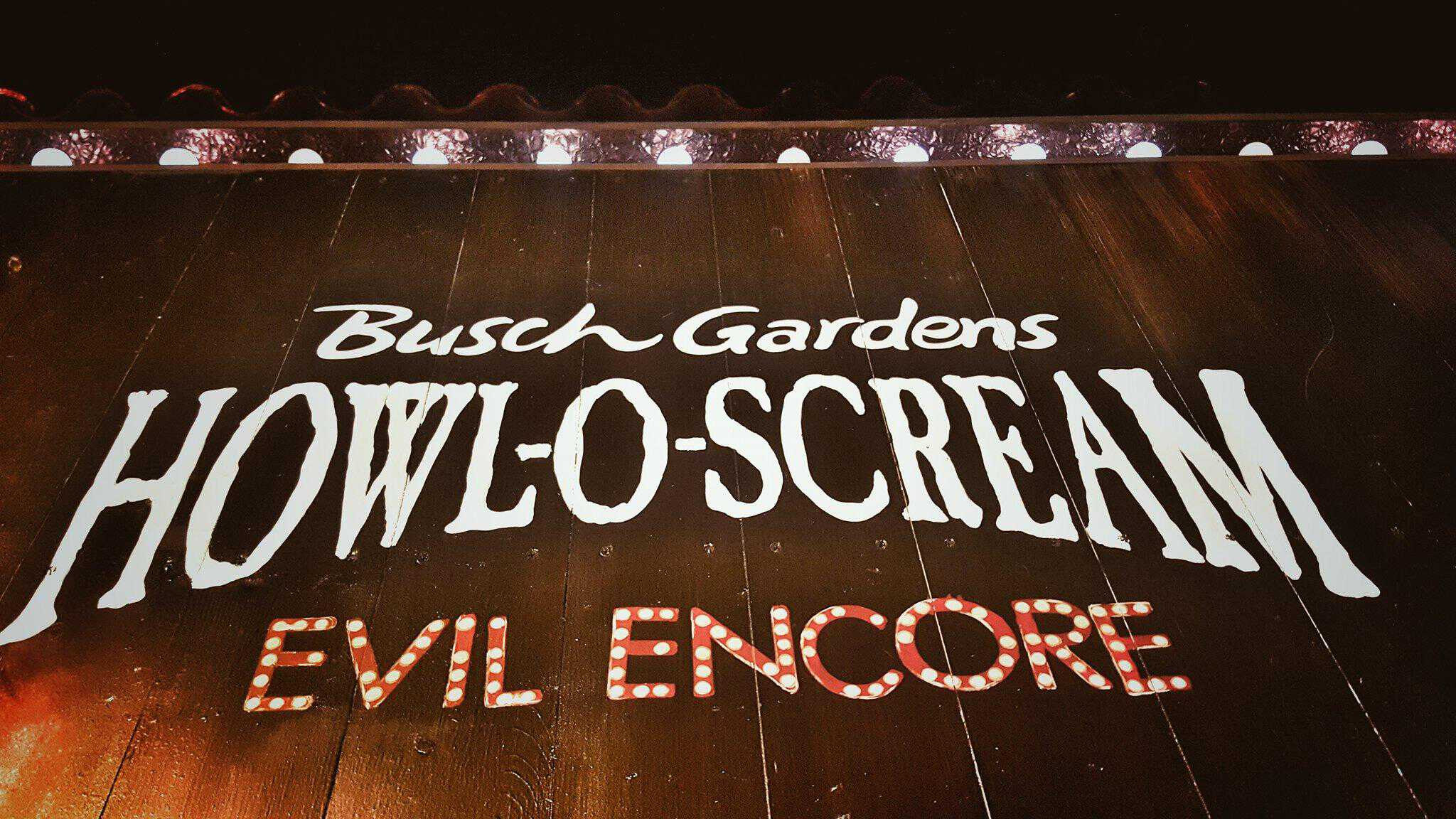 How Busch Gardensu0027 Howl O Scream 2016 Successfully Scared Us | Howl O