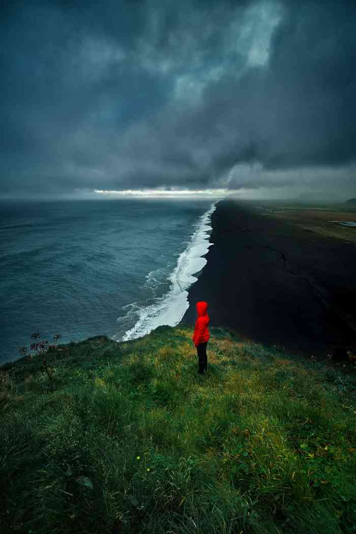 Dyrholaey viewpoint in Iceland offers stunning black beach in Iceland views