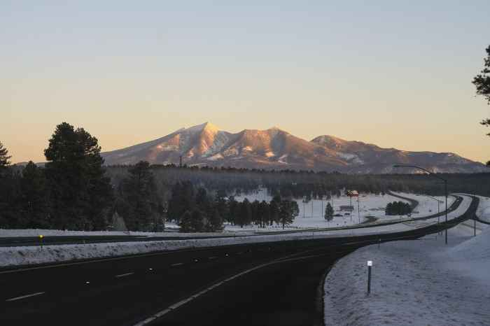 Flagstaff is a great place to visit on your arizona road trip itinerary