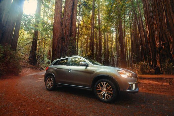 Road Tripping In The Redwoods With The 2018 Mitsubishi Outlander Sport