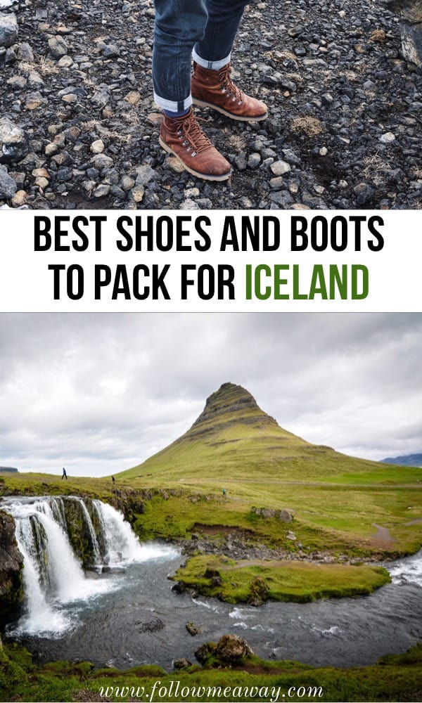 Best Hiking Boots For Iceland in Winter Or Summer | what to wear in iceland | what to pack for iceland | best shoes for iceland | best boots for iceland | iceland packing list | packing for iceland | iceland travel tips