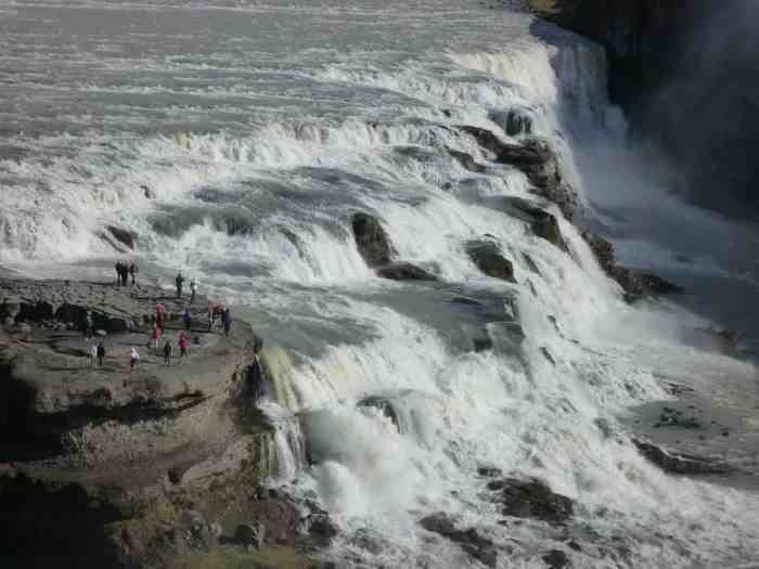 Safety tips for visiting Gullfoss Waterfall in Iceland