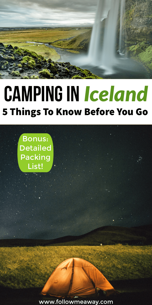 5 things to know about camping in iceland | Iceland on a budget | iceland travel tips | camping tips in iceland | budget travel tips for Iceland | iceland on a budget tips | travel tips for iceland on a budget