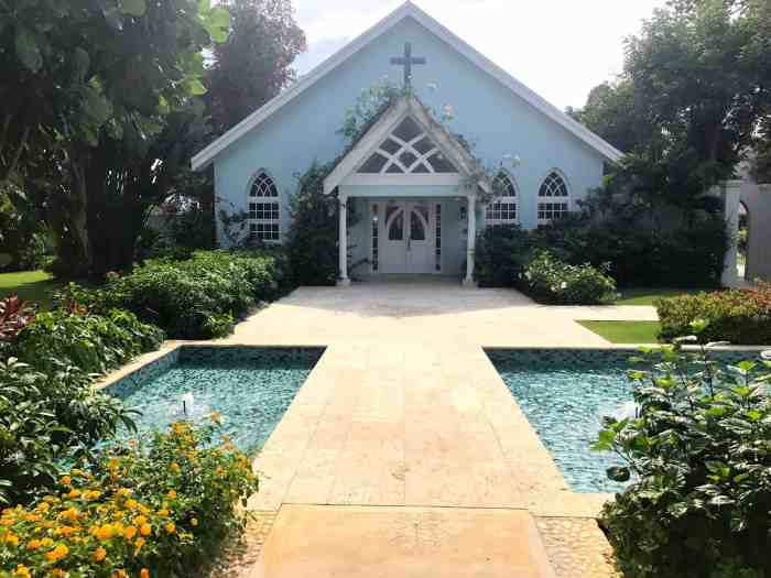 Sandals Montego Bay Jamaica Wedding Chapel