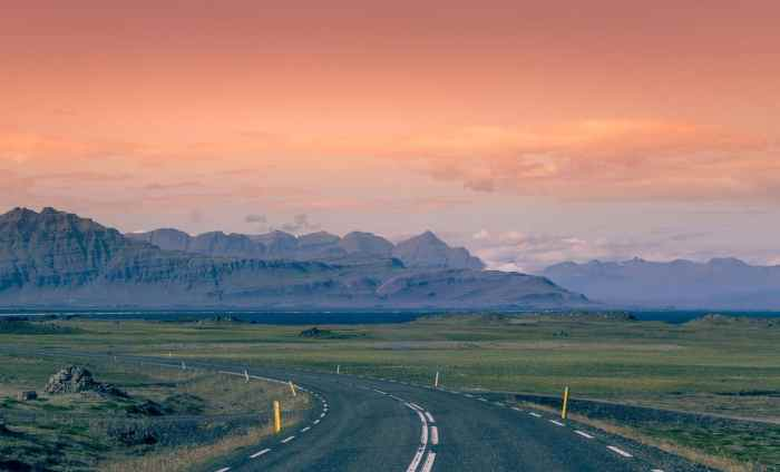 Driving is a popular way to get around Iceland on a budget