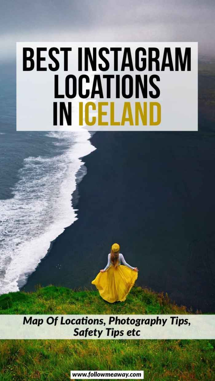 Best Instagram Locations In Iceland | 25 Iceland Photography Locations That Will Blow Your Mind | best things to do in Iceland | where to take photos in Iceland for Instagram | best Instagram spots in Iceland | iceland travel tips