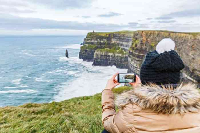 backup your memories by adding a USB drive to your ireland packing list