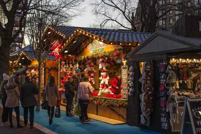 winter christmas markets in paris