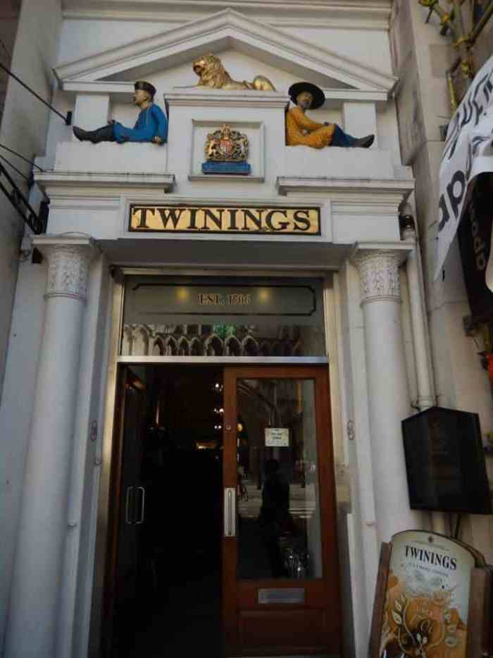 visit twinnings tea on your london itinerary