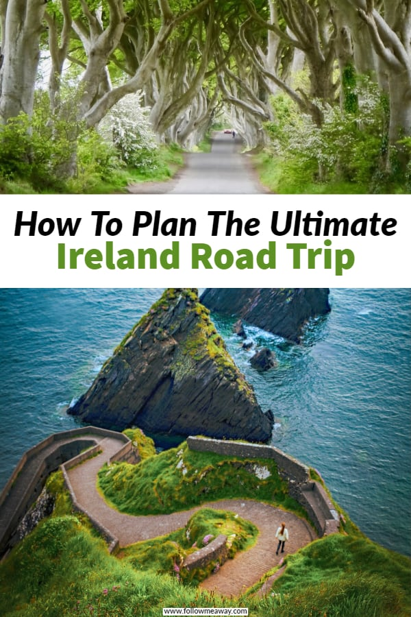 This is how to plan the perfect Ireland road trip itinerary for your first trip to Ireland! This Ireland road trip itinerary will show you the best things to do in Ireland! Cliffs Of Moher, Dingle, Dublin Belfast and more! #ireland #roadtrip #itinerary