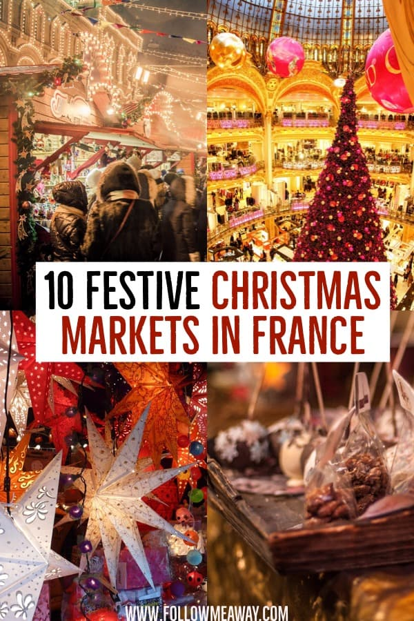 10 Magical Christmas Markets In France You Must See In 2018 | French christmas markets | best European christmas markets | best christmas markets in Europe | christmas travel tips