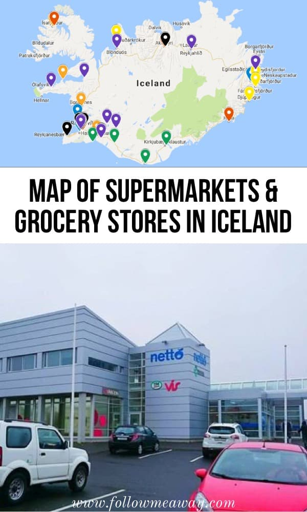 5 Things To Know About Grocery Stores In Iceland | map of iceland grocery stores | supermarkets in iceland | iceland travel tips | what to do in iceland | planning for iceland | iceland grocery stores #iceland