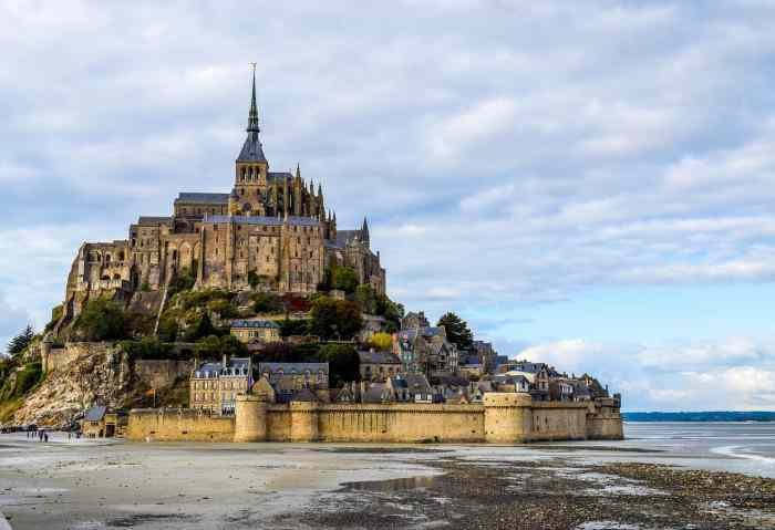 Mont St Michel is an amazing day trip from Paris