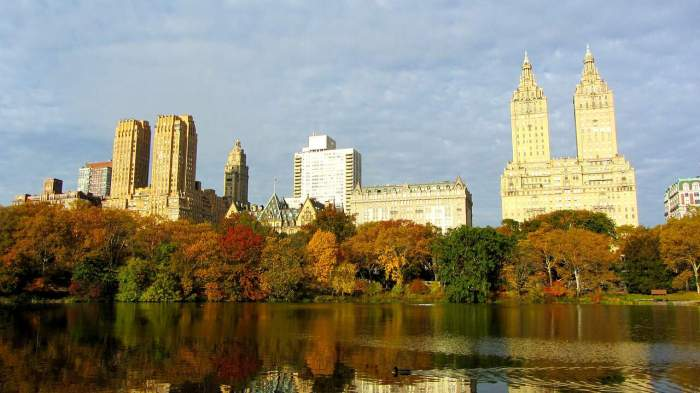 best NYC photography locations and how to find them | the lake at central park