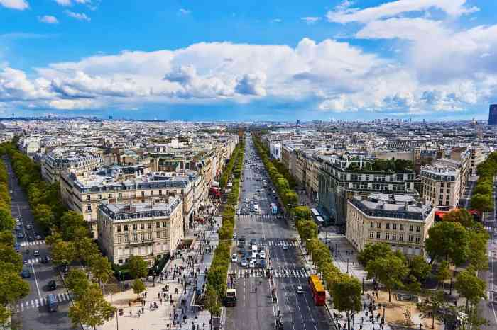 Visit Champs Elysees on your paris itinerary
