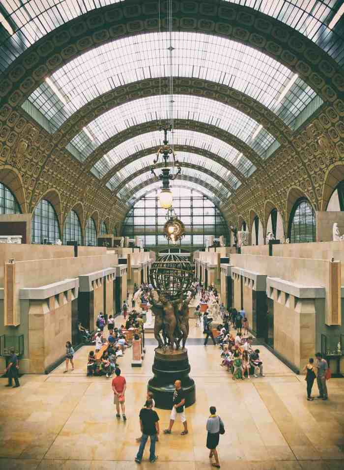 visit Musee d'Orsay on your first time in paris itinerary